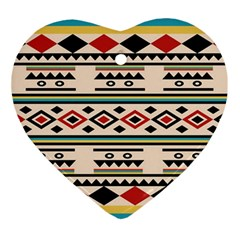 Tribal Pattern Ornament (heart)