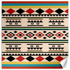 Tribal Pattern Canvas 12  X 12