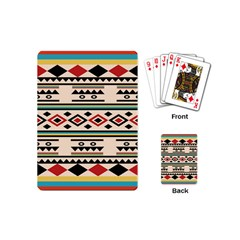 Tribal Pattern Playing Cards (mini)