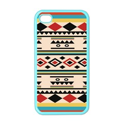 Tribal Pattern Apple Iphone 4 Case (color)