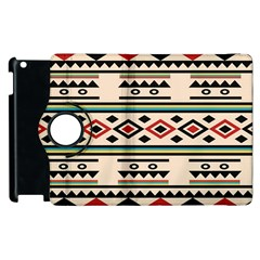 Tribal Pattern Apple Ipad 2 Flip 360 Case