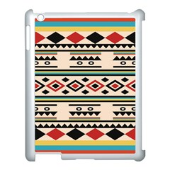 Tribal Pattern Apple Ipad 3/4 Case (white) by BangZart