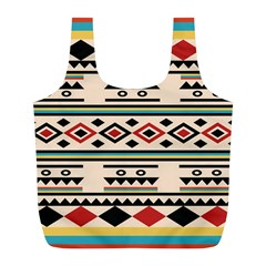 Tribal Pattern Full Print Recycle Bags (l)