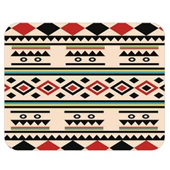 Tribal Pattern Double Sided Flano Blanket (medium)  by BangZart