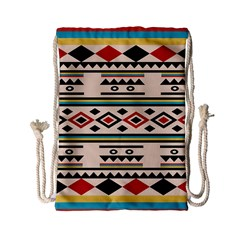 Tribal Pattern Drawstring Bag (small)