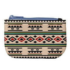 Tribal Pattern Large Coin Purse