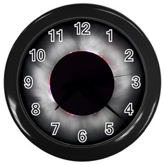 Solar Eclipse Wall Clocks (black)