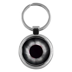 Solar Eclipse Key Chains (round)
