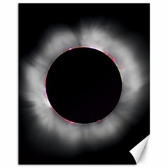Solar Eclipse Canvas 11  X 14