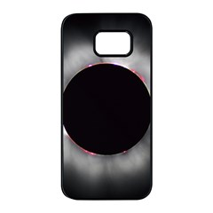 Solar Eclipse Samsung Galaxy S7 Edge Black Seamless Case