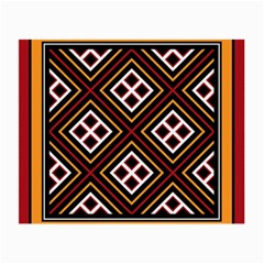 Toraja Pattern Pa re po  Sanguba ( Dancing Alone ) Small Glasses Cloth