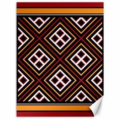 Toraja Pattern Pa re po  Sanguba ( Dancing Alone ) Canvas 36  X 48