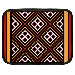 Toraja Pattern Pa re po  Sanguba ( Dancing Alone ) Netbook Case (large) by BangZart