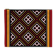 Toraja Pattern Pa re po  Sanguba ( Dancing Alone ) Cosmetic Bag (xl) by BangZart