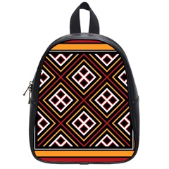 Toraja Pattern Pa re po  Sanguba ( Dancing Alone ) School Bags (small)  by BangZart