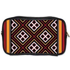 Toraja Pattern Pa re po  Sanguba ( Dancing Alone ) Toiletries Bags 2 Side by BangZart