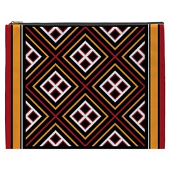 Toraja Pattern Pa re po  Sanguba ( Dancing Alone ) Cosmetic Bag (xxxl)  by BangZart