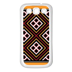 Toraja Pattern Pa re po  Sanguba ( Dancing Alone ) Samsung Galaxy S3 Back Case (white) by BangZart