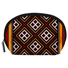 Toraja Pattern Pa re po  Sanguba ( Dancing Alone ) Accessory Pouches (large)  by BangZart