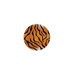 Tiger Skin Pattern 1  Mini Magnets by BangZart