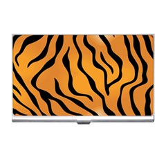 Tiger Skin Pattern Business Card Holders