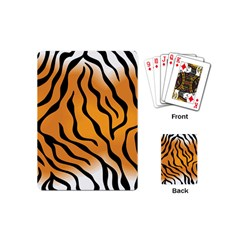 Tiger Skin Pattern Playing Cards (mini)