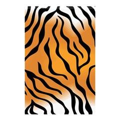 Tiger Skin Pattern Shower Curtain 48  X 72  (small)