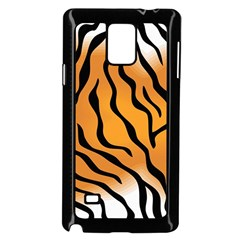 Tiger Skin Pattern Samsung Galaxy Note 4 Case (black)