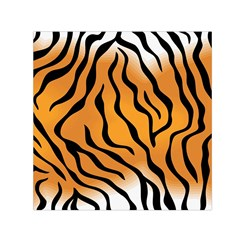 Tiger Skin Pattern Small Satin Scarf (square)