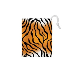 Tiger Skin Pattern Drawstring Pouches (xs)