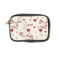 Pattern Hearts Kiss Love Lips Art Vector Coin Purse