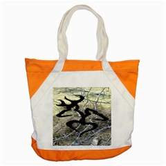 Black Love Browning Deer Camo Accent Tote Bag