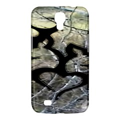 Black Love Browning Deer Camo Samsung Galaxy Mega 6 3  I9200 Hardshell Case by BangZart
