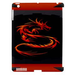 Dragon Apple Ipad 3/4 Hardshell Case (compatible With Smart Cover)