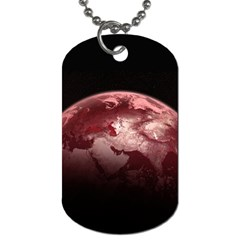 Planet Fantasy Art Dog Tag (two Sides) by BangZart