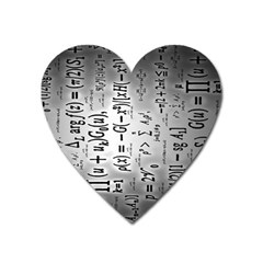 Science Formulas Heart Magnet