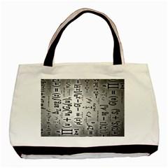 Science Formulas Basic Tote Bag (two Sides)