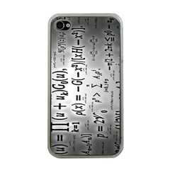 Science Formulas Apple Iphone 4 Case (clear) by BangZart