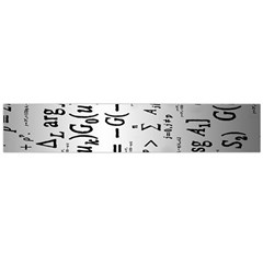 Science Formulas Flano Scarf (large)