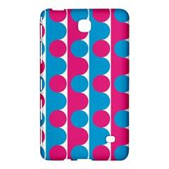 Pink And Bluedots Pattern Samsung Galaxy Tab 4 (7 ) Hardshell Case