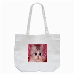 Cat  Animal  Kitten  Pet Tote Bag (white)