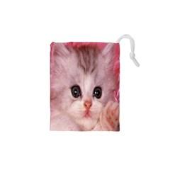 Cat  Animal  Kitten  Pet Drawstring Pouches (xs)