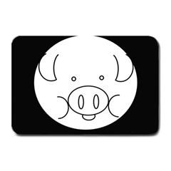 Pig Logo Plate Mats