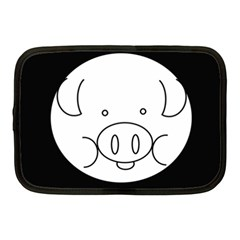 Pig Logo Netbook Case (medium)
