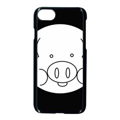 Pig Logo Apple Iphone 7 Seamless Case (black) by BangZart