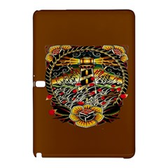 Tattoo Art Print Traditional Artwork Lighthouse Wave Samsung Galaxy Tab Pro 12 2 Hardshell Case