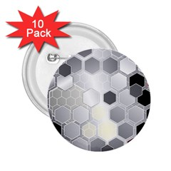 Honeycomb Pattern 2 25  Buttons (10 Pack)