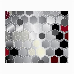 Honeycomb Pattern Small Glasses Cloth