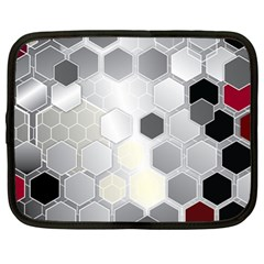 Honeycomb Pattern Netbook Case (xl)