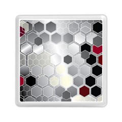 Honeycomb Pattern Memory Card Reader (square)